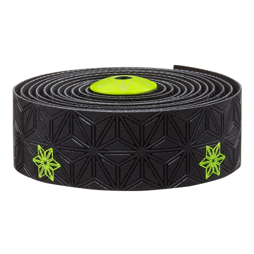 Supacaz Super Sticky Kush Handle Bar Tape Galaxy - Neon Yellow